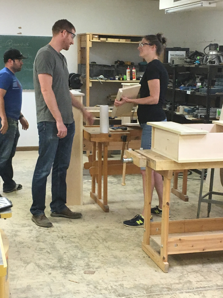 Denver Woodworking Class Project Photo